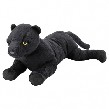 М'яка іграшка IKEA MODERLIG пантера 54 см (405.068.04)