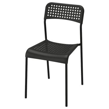 Стілець IKEA ADDE чорний (902.142.85)