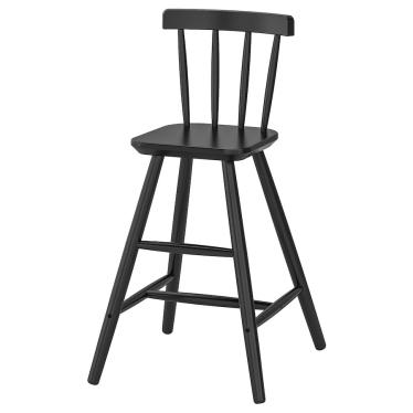Дитячий стілець IKEA AGAM чорний (702.535.41)
