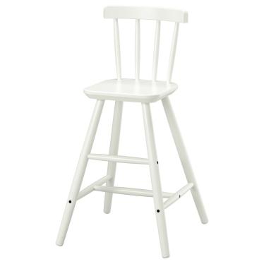 Дитячий стілець IKEA AGAM білий (902.535.35)