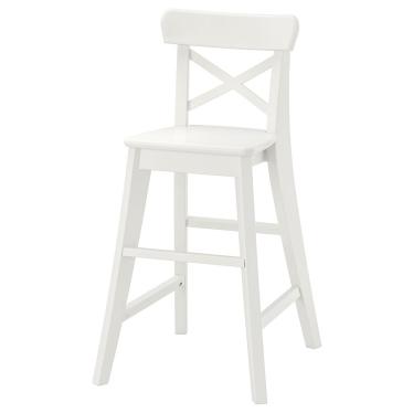 Дитячий стілець IKEA INGOLF білий (901.464.56)
