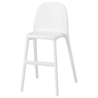 Дитячий стілець IKEA URBAN білий (001.652.13)