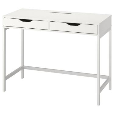 Письмовий стіл IKEA ALEX 100х48 см білий (104.735.55)