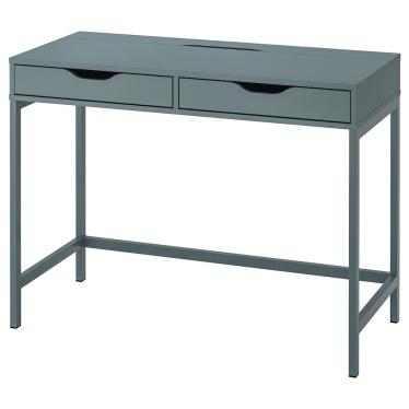 Письмовий стіл IKEA ALEX 100х48 см сіро-бірюзовий (204.838.08)