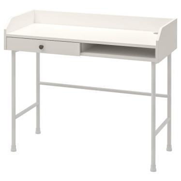 Письмовий стіл IKEA HAUGA 100х45 см білий (904.776.77)